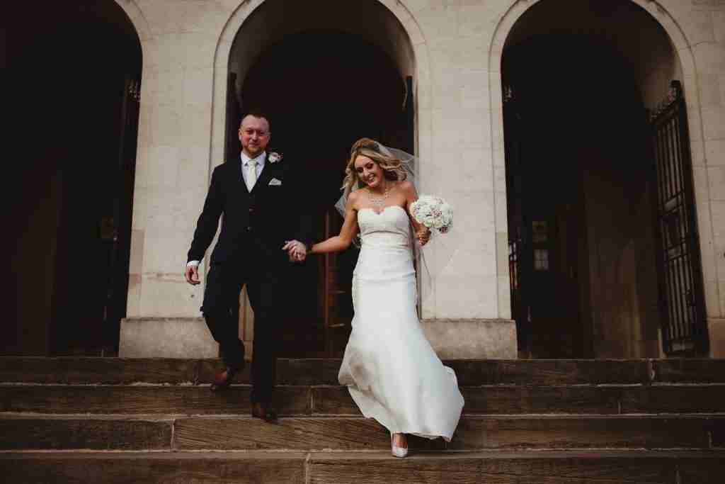 Chesterfield Registry Office Wedding